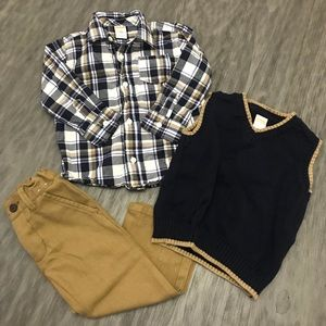 Boys Gymboree Holiday Outfit